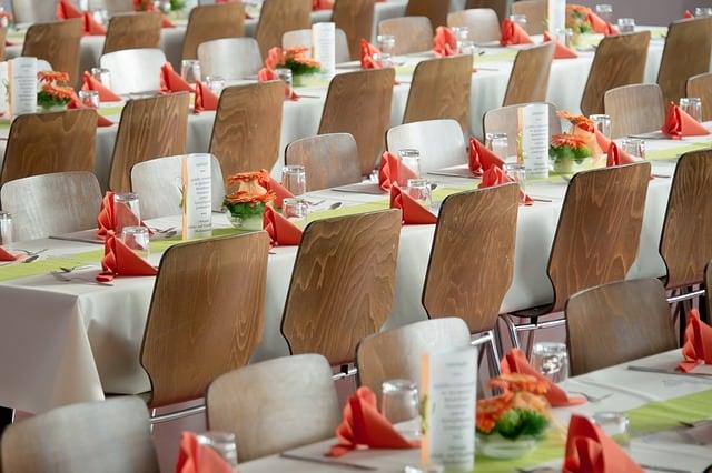 detalles de boda mesas
