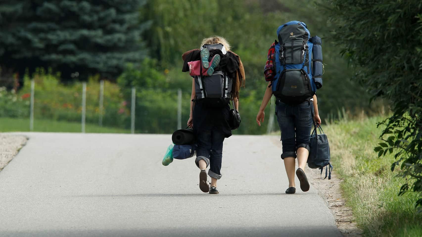 viaje mochileros