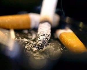 cigarros y nicotina