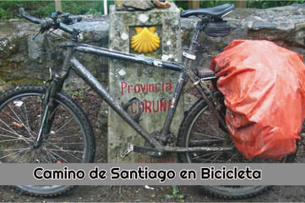 camino de santiago en bicicleta