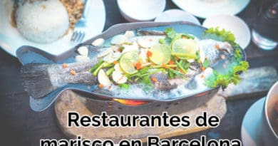 restaurantes de marisco en barcelona