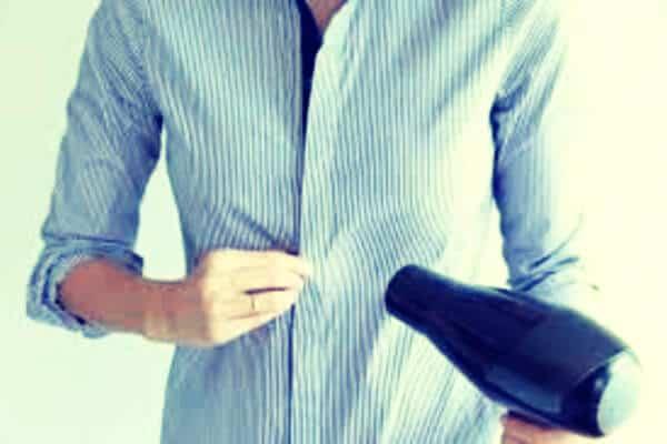 secador para secar una camisa
